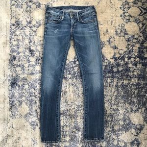 Citizens of Humanity Racer Low Rise Skinny Jean 25